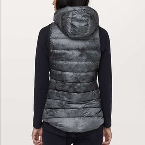 lululemon athletica Jackets & Coats - Lululemon Pack it Down Vest Diamond Dye black